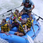 Coeur d'Alene white water rafting
