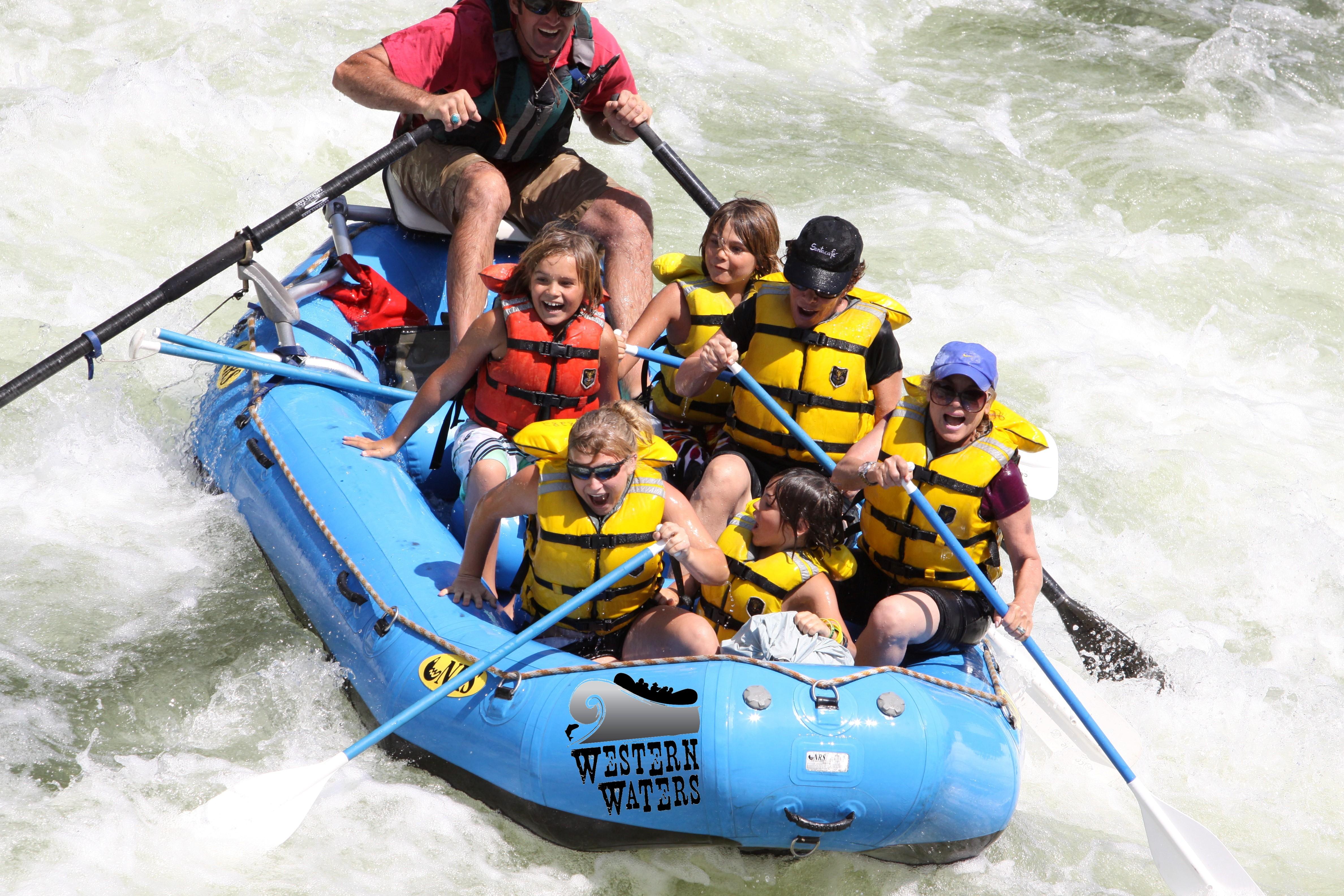 White Water Rafting CDA - Coeur d'Alene Adventures Rafting Trips