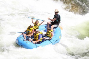 Coeur d'Alene guided white water rafting adventures