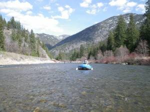 Spring rafting CDA Adventures
