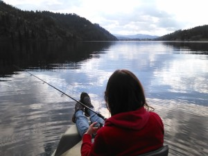 Idaho Fishing near Coeur d'ALene